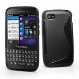 Husa BlackBerry Q5 Silicon Gel Tpu S-Line Neagra
