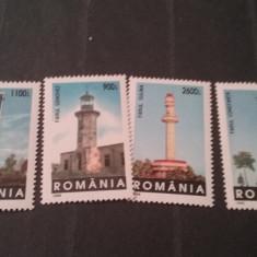 Romania 1998-LP 1474-Faruri, MNH, nestampilate. - Timbre Romania