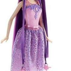 Papusa Mattel Barbie Endless Hair Kingdom Princess Doll Purple