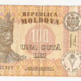 MOLDOVA -100 LEI 1992 - Bancnota romaneasca