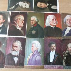 Set 12 carti postale vechi, Necirculata, Altul, Europa