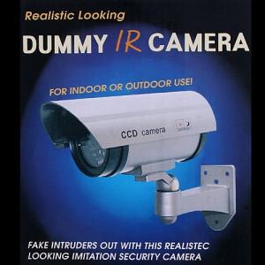 Camera de supraveghere falsa design realist camera falsa dummy