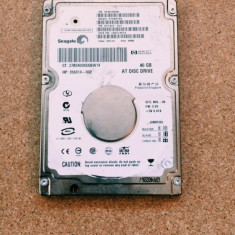 Hard Disk / HDD IDE SEAGATE 40GB ST94019A DEFECT - HDD laptop Seagate, 41-80 GB, Rotatii: 5400