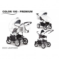 Mikado CITY STAR PREMUM Eco-Leather 3 in 1 - Carucior Gemeni