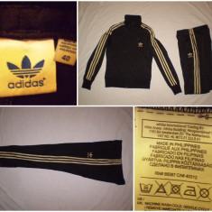 Trening Adidas Originals (40/M) negru casual sport retro vintage bluza pantalon, Culoare: Din imagine