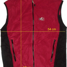 Vesta polar outdoor MILLET Polartec originala (L) cod-174295 - Imbracaminte outdoor Millet, Marime: L, Barbati