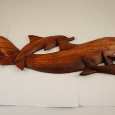 Statueta 3 delfini 40cm - Figurina/statueta