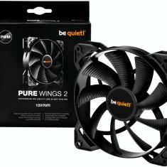 Be quiet! Pure Wings 2 120mm PWM fan, 18, 5 dBA BL039 - Cooler PC Be quiet!, Pentru carcase