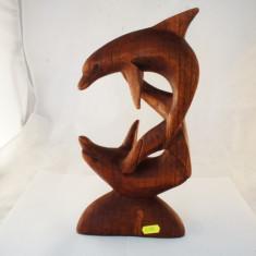Delfini dubli suprapusi in cerc 30cm