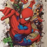 Sticker decorativ 6D, model Spiderman 2