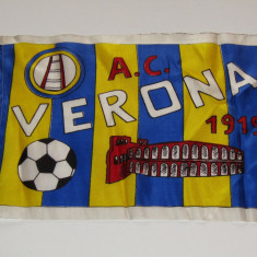 Stegulet fotbal suporter - AC VERONA - Steag fotbal