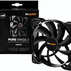 Be quiet! Pure Wings 2 140mm PWM fan, 19, 2 dBA BL040 - Cooler PC Be quiet!, Pentru carcase