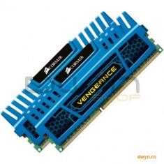 Corsair DDR3 4GB 1600MHz, KIT 2x2GB, 9-9-9-24, radiator Blue Vengeance, dual channel, 1.5V - Memorie RAM laptop
