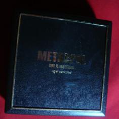 Cutie din plastic - Metropol -l= 6, 1 cm, fol. pt. bijuterii, ceasuri, medalii - Cutie Bijuterii