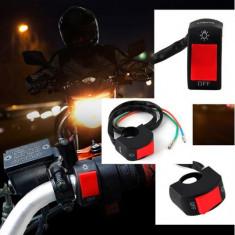 Comutator / Intrerupator ghidon Moto - lumini - Intrerupator Moto