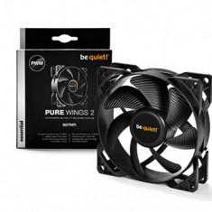Be quiet! Pure Wings 2 92mm PWM fan, 18, 6 dBA BL038 - Cooler PC Be quiet!, Pentru carcase