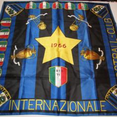Steag fotbal suporter -INTERNAZIONALE MILANO