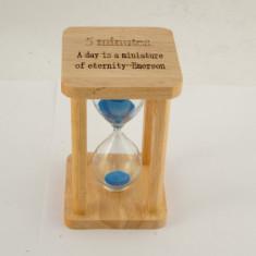 Clepsidra cadru lemn 4 coloane 15 minute