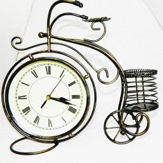 Ceas Bicicleta cu suport pixuri