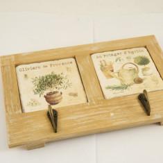 Cuier lemn natur - Cuier hol