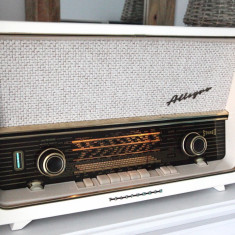 Radio lampi Telefunken Allegro 2183 Stereo, complet restaurat - Aparat radio