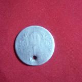 Moneda- Medalion 1 kor. 1902 Austria Fr.Josef, gaurita, argint, Europa