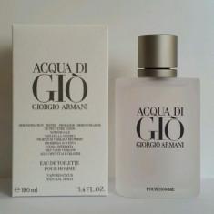 Parfum Tester - Armani Aqua di Gio - 100 ml - Parfum barbati, Apa de toaleta