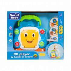 Jucarie bebelusi - CD Player cu lumini si sunete