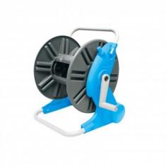 Tambur derulator furtun gradina, Aquacraft Premium 990100, conexiune 1/2, max 45 m, cadru metalic