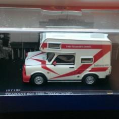 Macheta IST Premium - Trabant 601 Camper - Autorulota 1980 - 1/43 - Macheta auto