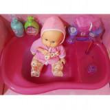 Papusa Bebe cu Cadita Cod 008-11