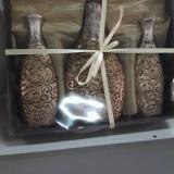 Set 3 vaze flori - Vaza si suport flori
