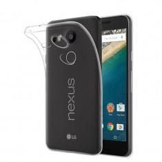 Husa de Protectie Clear GEL TPU SILICONICA Transparenta LG Nexus 5X - Husa Telefon LG, Fara snur