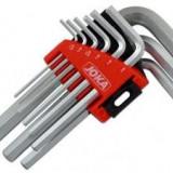 Set 9 chei imbus Cr-V 1.5-10 mm Joka scurte