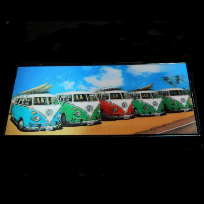 Tablou 3D W Cars foto mare