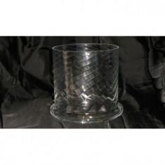 Cilindru mare sticla cu model - Copiator alb negru