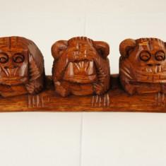 Statuete Maimute Omerta 10cm 3/set