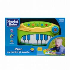 Jucarie bebelusi - Pian cu lumini si sunete