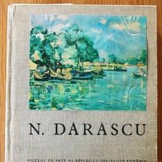 EXPOZITIA N.DARASCU, catalog de Paula Constantinescu, H.Clonaru, 1966, MNAR - Album Pictura