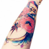 Tatuaj Tatuaje Temporare Auriu Argintiu Fashion Body Art Color Real Look Mare