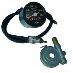 ANSAMBLU KILOMETRAJ PIAGGIO CIAO 50 (MIC - MELC + CABLU + VITEZOMETRU, D=48MM) - Cablu Kilometraj Moto