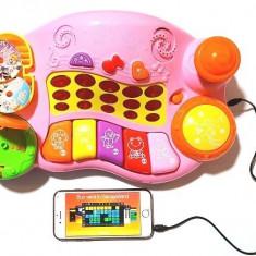 Orga muzicala compatibila smartphone Cod 6629 - Instrumente muzicale copii