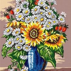 Goblen Vază cu flori