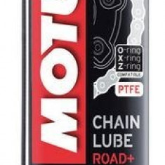 Spray intretinere lant moto, Motul Chainlube C2+, Road Plus, 400ml