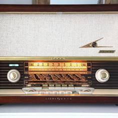 Radio lampi Loewe opta Luna type 3741W, complet restaurat - Aparat radio