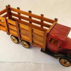 Camion lemn suport sticle - Suport sticla vin