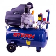 Compresor auto CO2025A Stern, 25 l, 2 CP, 1500 W
