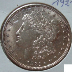 JN. One dollar 1921, argint