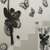 Sticker decorativ3D, model Balerina
