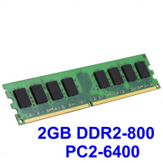 2GB DDR2-800 PC2-6400 800MHz , Memorie Desktop PC DDR2 ,Testata cu Memtest86+